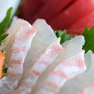 31. Seabass Sashimi