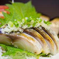 33. Mackerel Sashimi