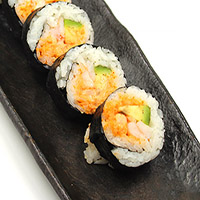 54. Spicy Prawn Roll Futomaki