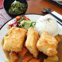 93. Tofu Steak Curry