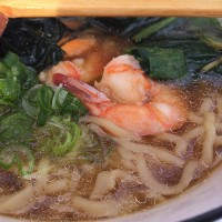 104. Seafood Noodle with Soup
