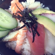 101. Chirashi Don (mixed sashimi)
