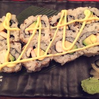 47. Prawn Avocado Roll Uramaki