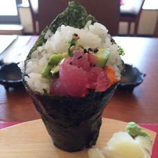 61. Tuna Avocado Temaki