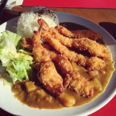 91. Prawn Katsu Curry