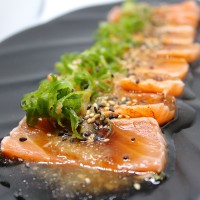 14. Salmon Tataki