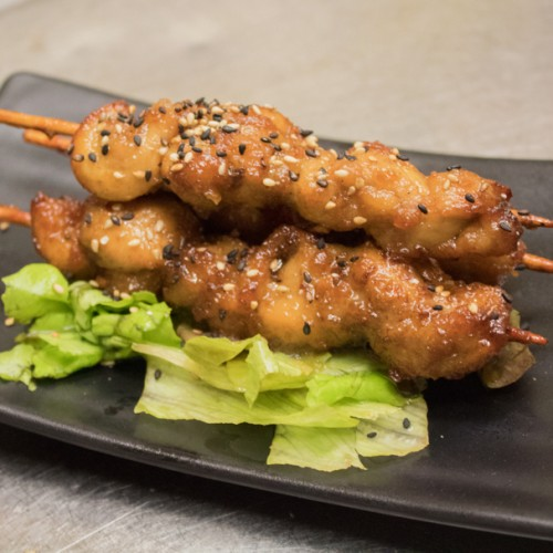 2. Chicken Yakitori (3 sticks)