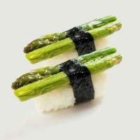 24. Asparagus Sushi