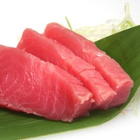 30. Tuna Sashimi