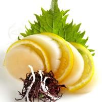 35. Scallops Sashimi